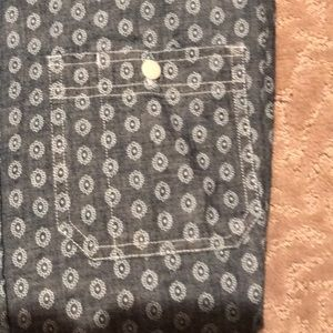 Old Navy Shirts - Denim pattern dress shirt